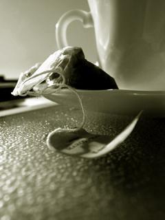 Tomando un té con el amor